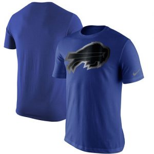 NFL Men's Buffalo Bills Nike Royal Champion Drive Reflective T-Shirt