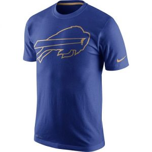 NFL Men's Buffalo Bills Nike Royal Championship Drive Gold Collection Performance T-Shirt