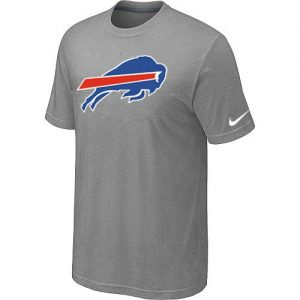 Nike Buffalo Bills Women's Legend Logo Dri-FIT NFL T-Shirt - Grey