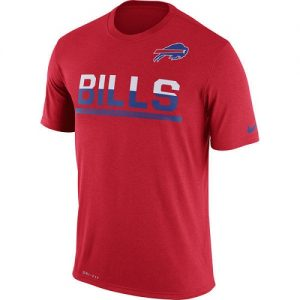 NFL Men's Buffalo Bills Nike Red Team Practice Legend Performance T-Shirt