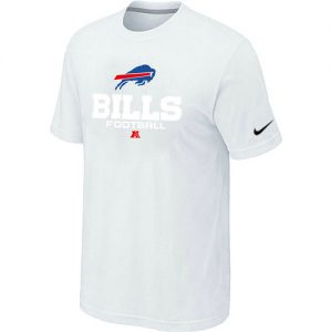 Nike Buffalo Bills Critical Victory NFL T-Shirt - White