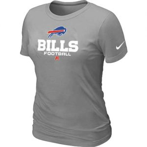 Nike Buffalo Bills Women's Critical Victory NFL T-Shirt - Light Grey